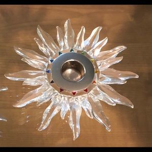 Swarovski Crystal Solaris Candle Holders